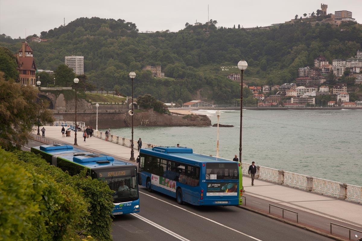 Bus Donostia
